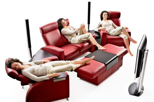 ekornes stressless home theater seating recliners