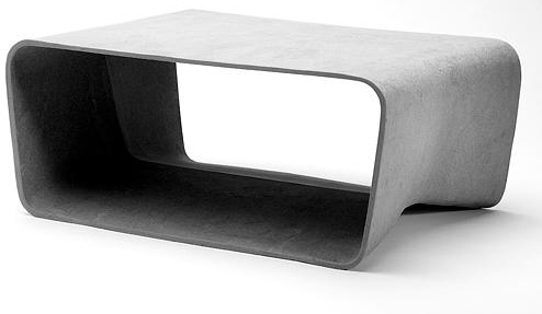 fiber cement coffee table patio furniture swiss e form