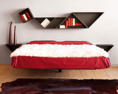 fluttua contemporary floating beds lago furniture