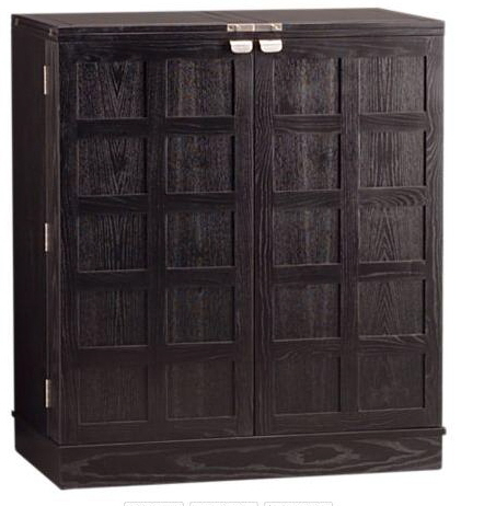 crate and barrel furniture fold up steamer bar and wine storage
