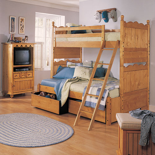full and twin bunk bed childrens furniture