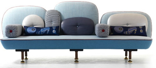funky and cool fabric sofas doshi levien