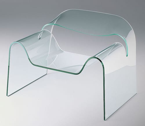 glass chair modern furniture
