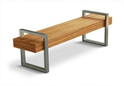 "The Industrial Styled ""Return Bench"" from Gus* Modern"