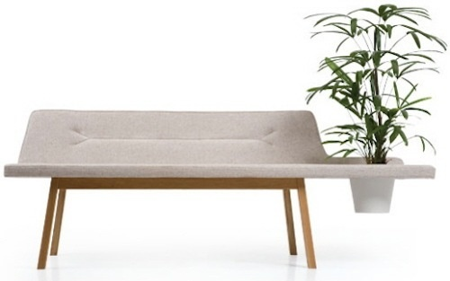 Get In Touch with Nature: Lin Pod Bench by Atlantico