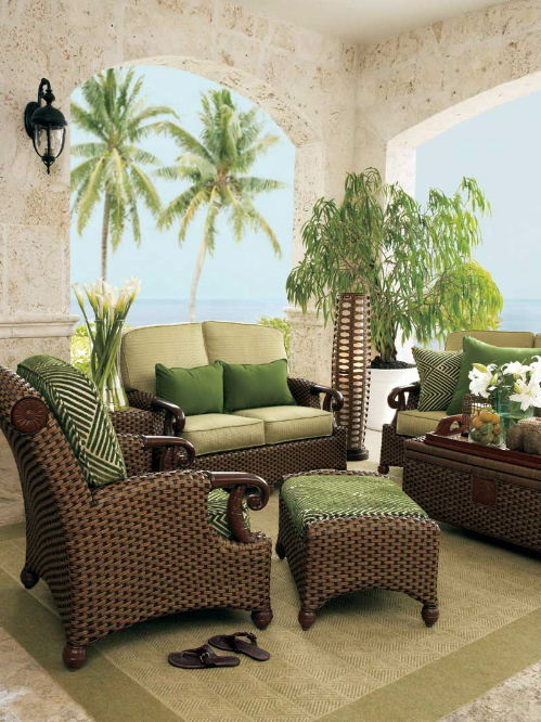 Patio furniture wicker tommy bahama