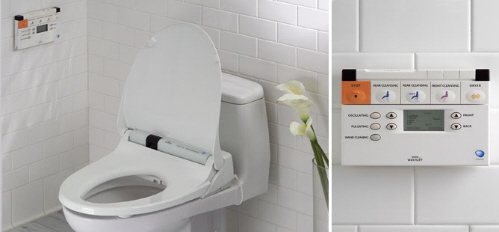 self cleaning toilet washlet s400 toto