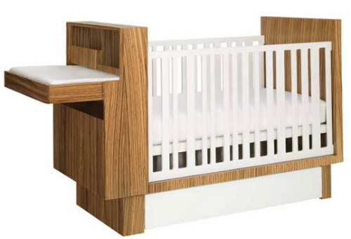 Studio Baby Crib / Changing Table from NurseryWork